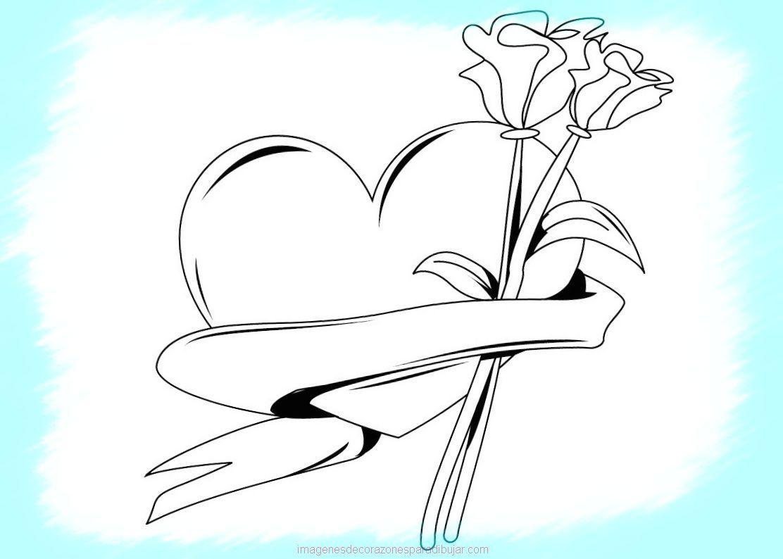 dibujos-para-colorear-de-rosas_1 | favoritos | Pinterest | Colorear ...