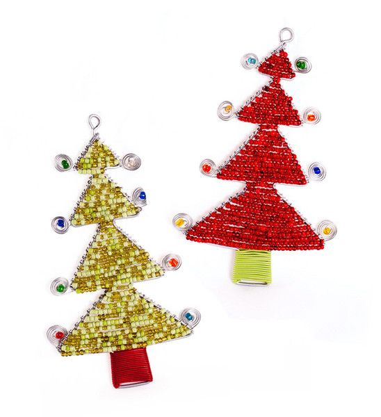 Trees for your tree these shiny little african christmas for African christmas decoration