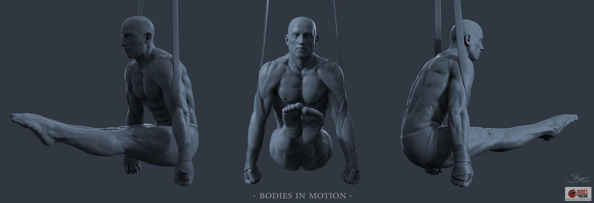 ArtStation - Anatomy Study, Shannon Thomas | Pocket dynamic pose ref ...