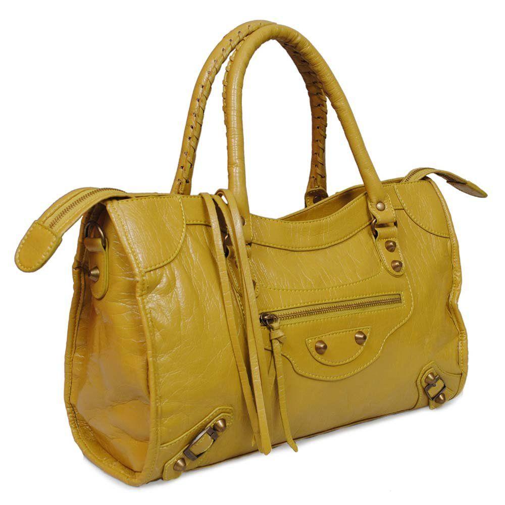 Betterton Motorcycle Bag Yellow