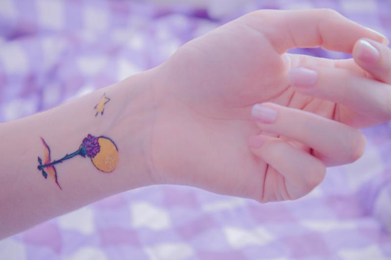 Oh,my honey! - Delicadeza, Fotografia, Inspiração ♡ : Minha terceira tatuagem, a Rosa do Pequeno Príncipe.