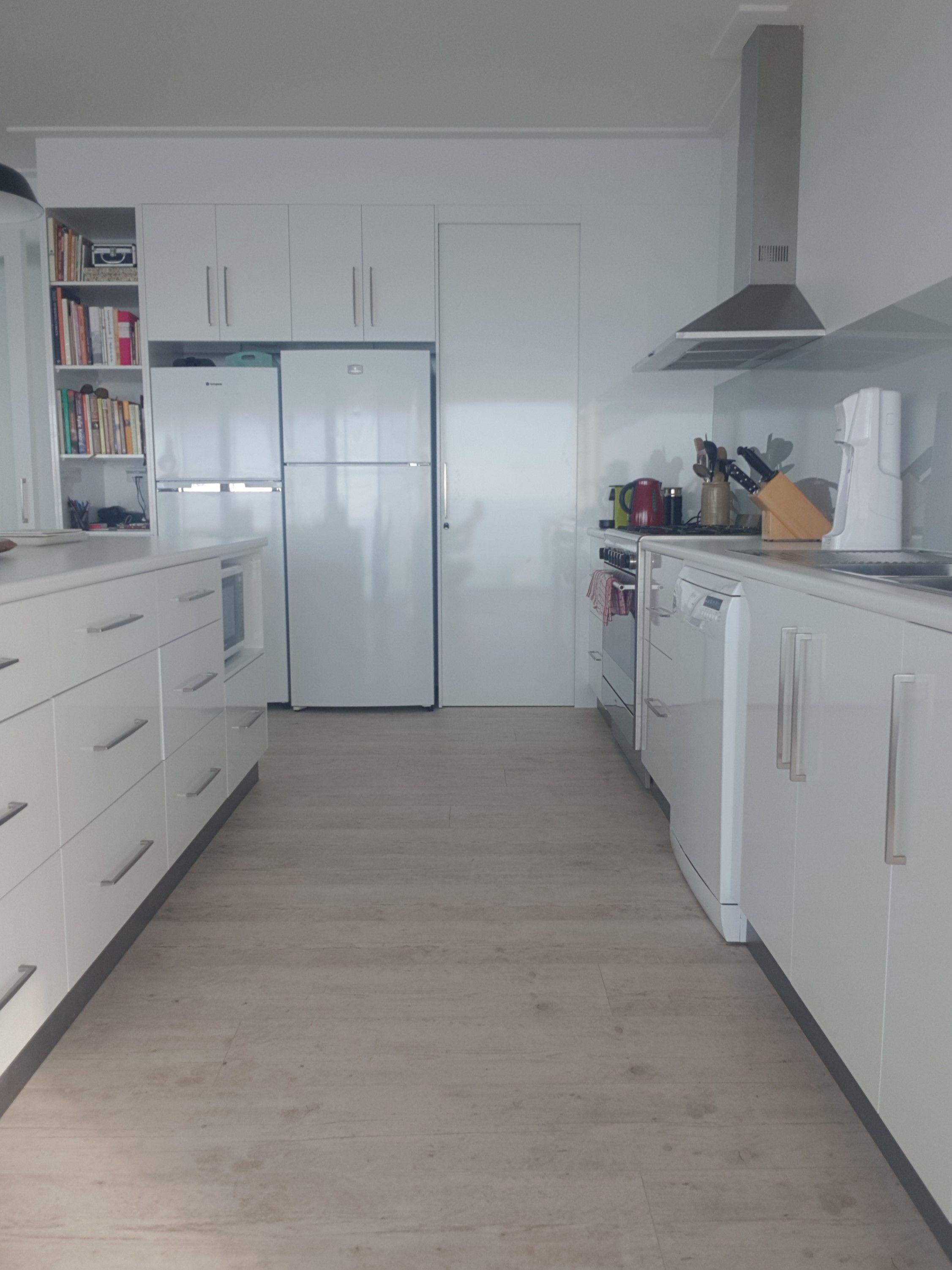 White On White Kitchen White Laminate Kitchen Cabinets Kitchen