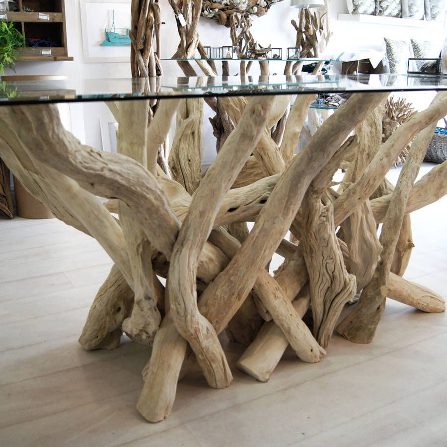 Rectangular Driftwood Dining Table Driftwood Dining Table