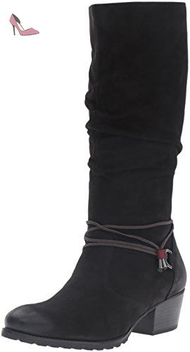 EU Black 001 Noir Bottes Chaussures Femme 39 Tamaris 25531 qw40PP