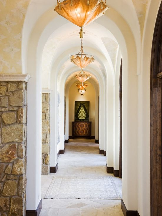Arched Hallway Modern Design, Pictures, Remodel, Decor and Ideas - page 3