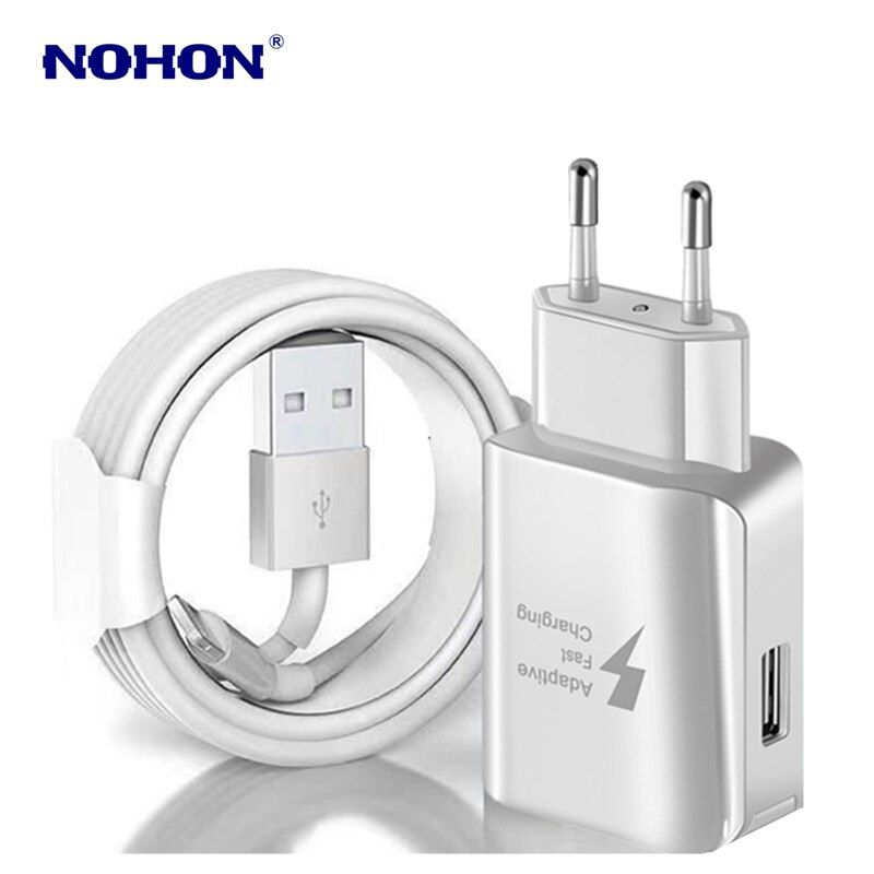 Kit 1m Usb Cable Usb Fast Charger For Iphone X Xs Max Xr 5s 6 6s 7 8 Plus Usb Charging Cable Eu Plug Travel Wall Charger Adapter In 2020 Iphone Iphone 7 Marble Stones
