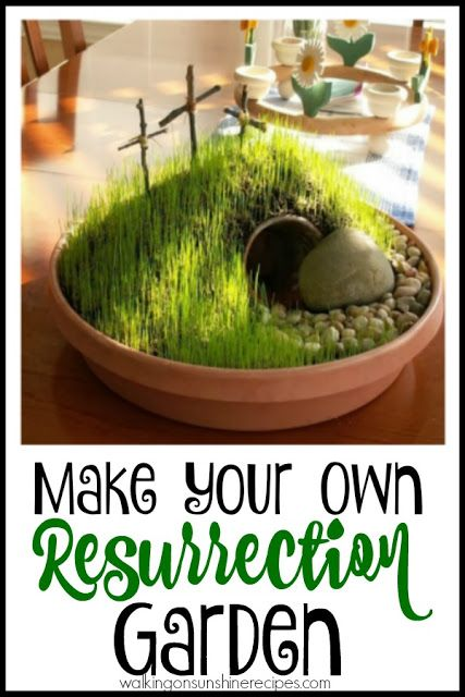 Image result for easter garden school project