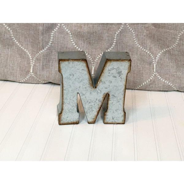 7 Inch Metal Letters Metal Lettersmetal Letterletter M7 Inch Letterwall Letter