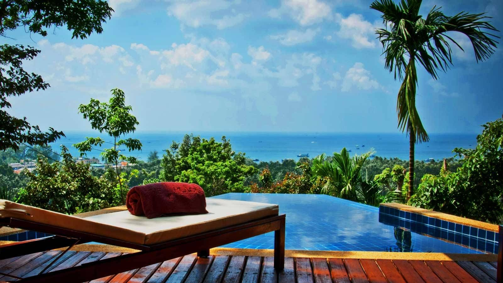 Overlooking The Gulf Of Thailand