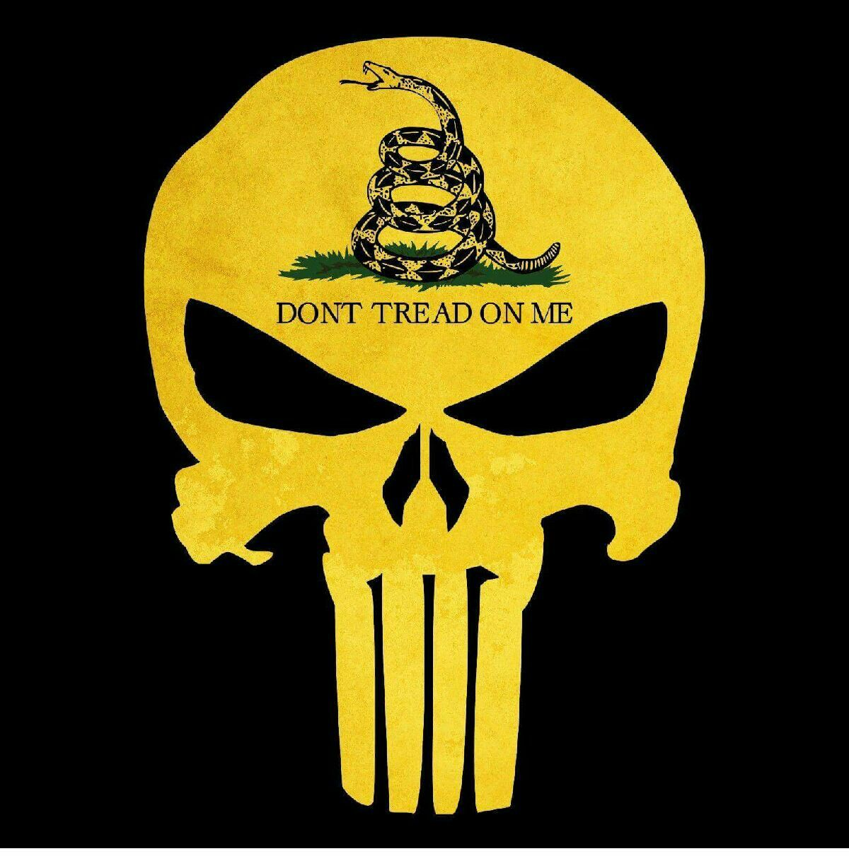 Don't tread on me!!! Dont tread on me, Punisher artwork