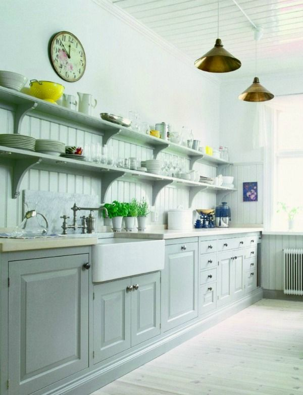 How To Style Open Shelving In A Kitchen  Open Shelving Kitchens Delectable Kitchen Shelves Designs Inspiration Design