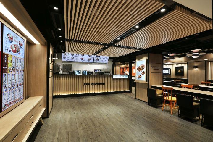 Yoshinoya Fast Food Restaurant by AS Design Service, Hong Kong ...