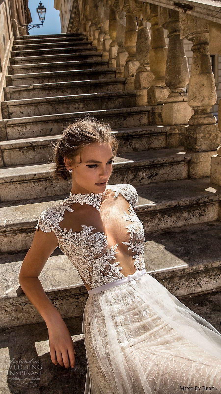 Muse by berta wedding dresses u sicily bridal campaign in
