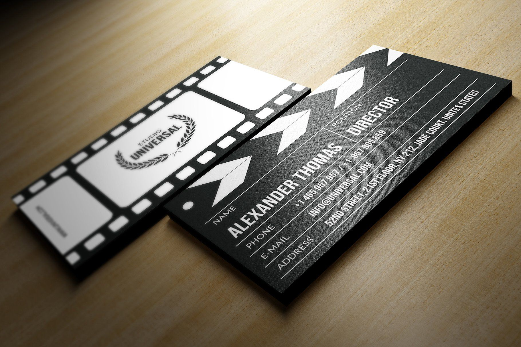 11 Hd High Quality Business Card Sample For Wedding Videographer