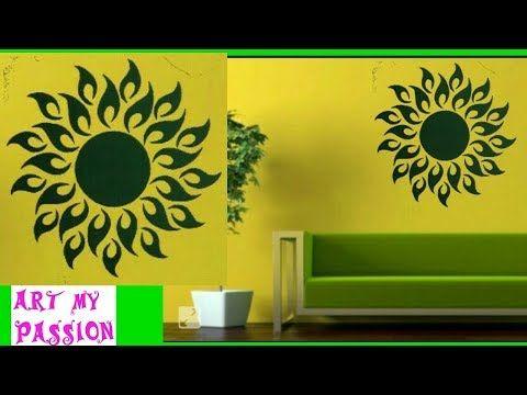 DIY|3D wall sticker|diy wall decor|diy Home decor|diy room decor|art ...