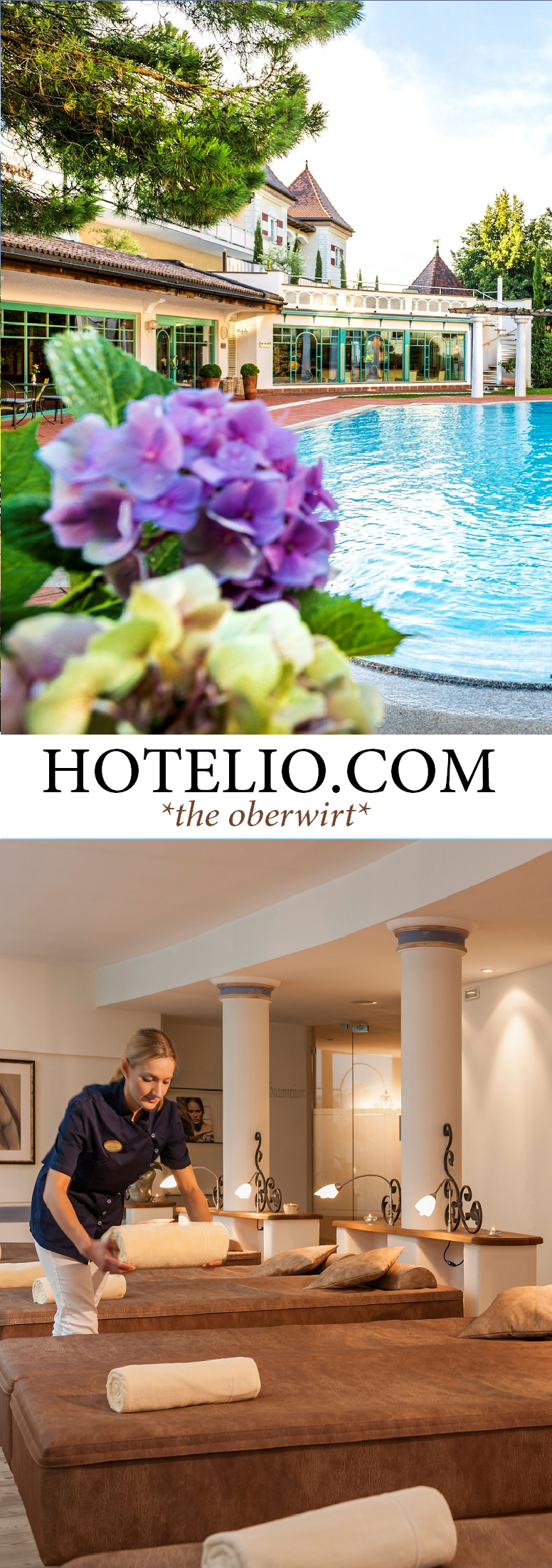 www.hotelio.com || The Oberwirt ||A little paradise located in the south side of the Alps, set in the middle of the Meran region in South Tyrol with 300 sunshine days a year. #Luxury #LuxuryTravel #LuxuryHotels #Luxury #Villas #Hotels #Trentino #SouthTyrol (Pinned by #Casalio - www.casalio.com) Our travel blog www.casaliotravel.com