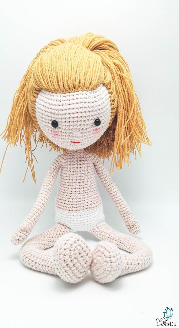 Crochet Doll Base Pattern -Amigurumi Doll Base, Instant download ...