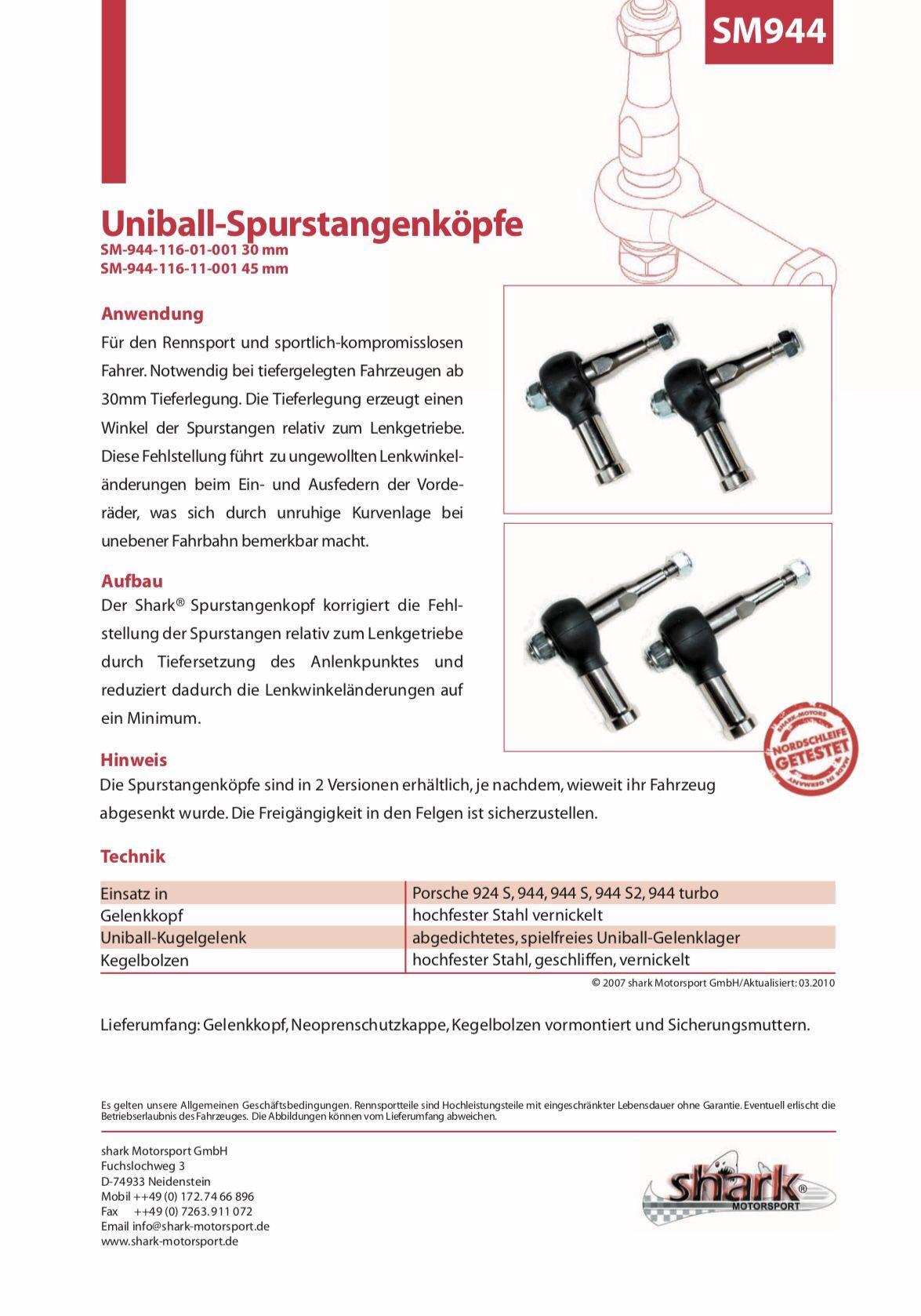 Spurstangenkopf Kugelgelenk Track Rod Ends