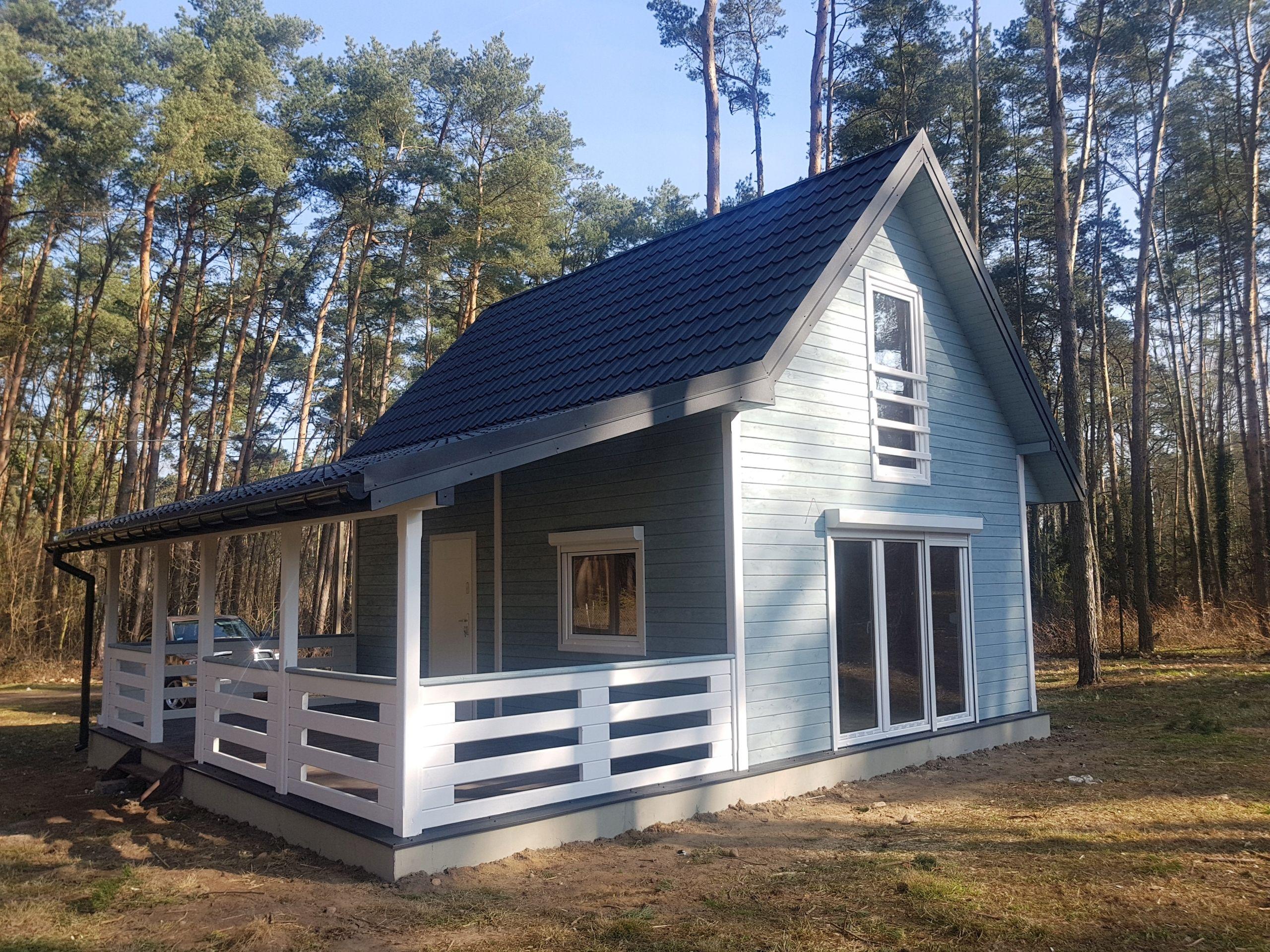 Domy Domki Z Drewna Letniskowe Bez Pozwolenia 70m2 7957930720 Allegro Pl Barn Style House Tiny House Living Tiny House