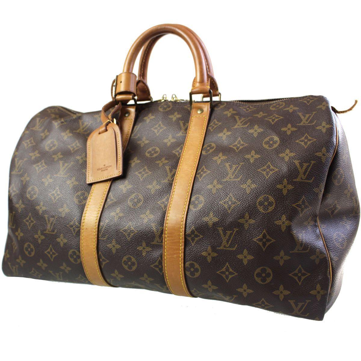 Louis Vuitton Keepall 45 Hand Boston Monogram France Bag