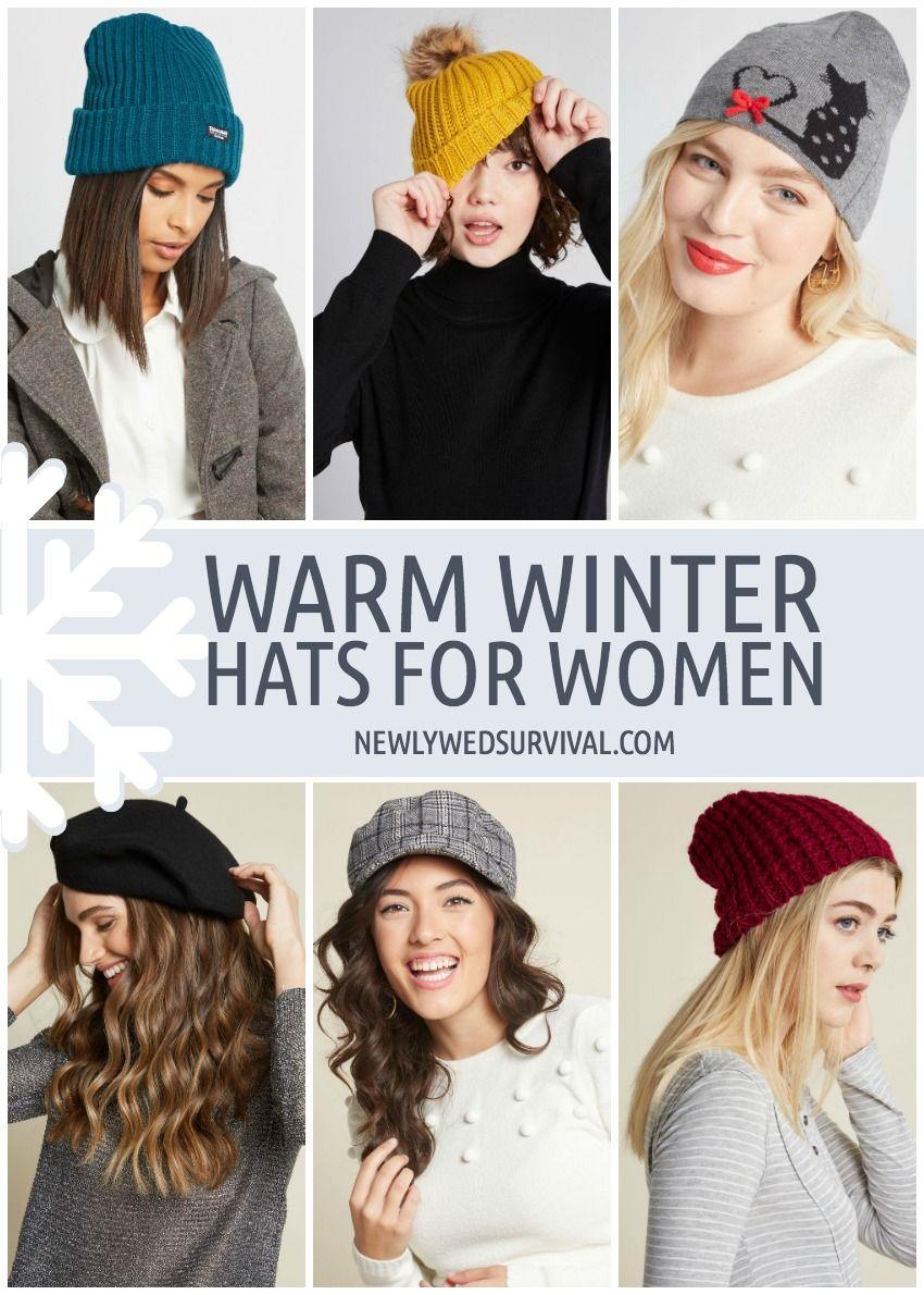 meet super popular top fashion Knit hats, Beanies, Berets & More!   Warm winter hats ...