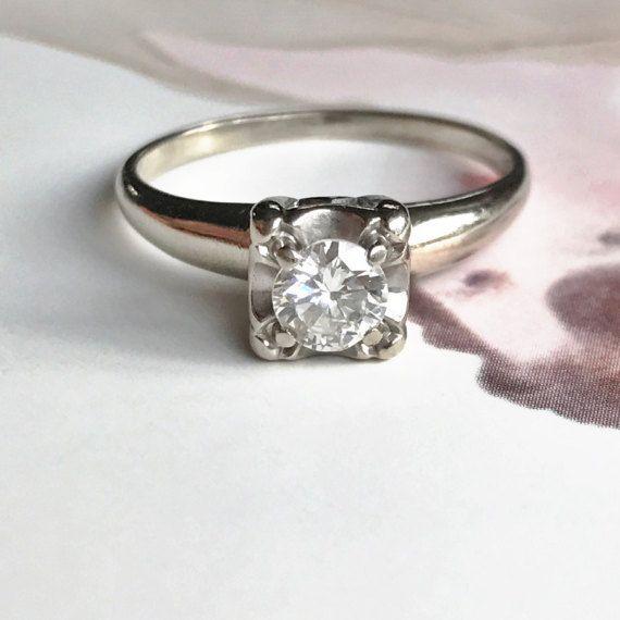 0.53ct Uncut//Rose Cut Diamond Band Ring 14k Gold 925 Silver Victorian Jewelry