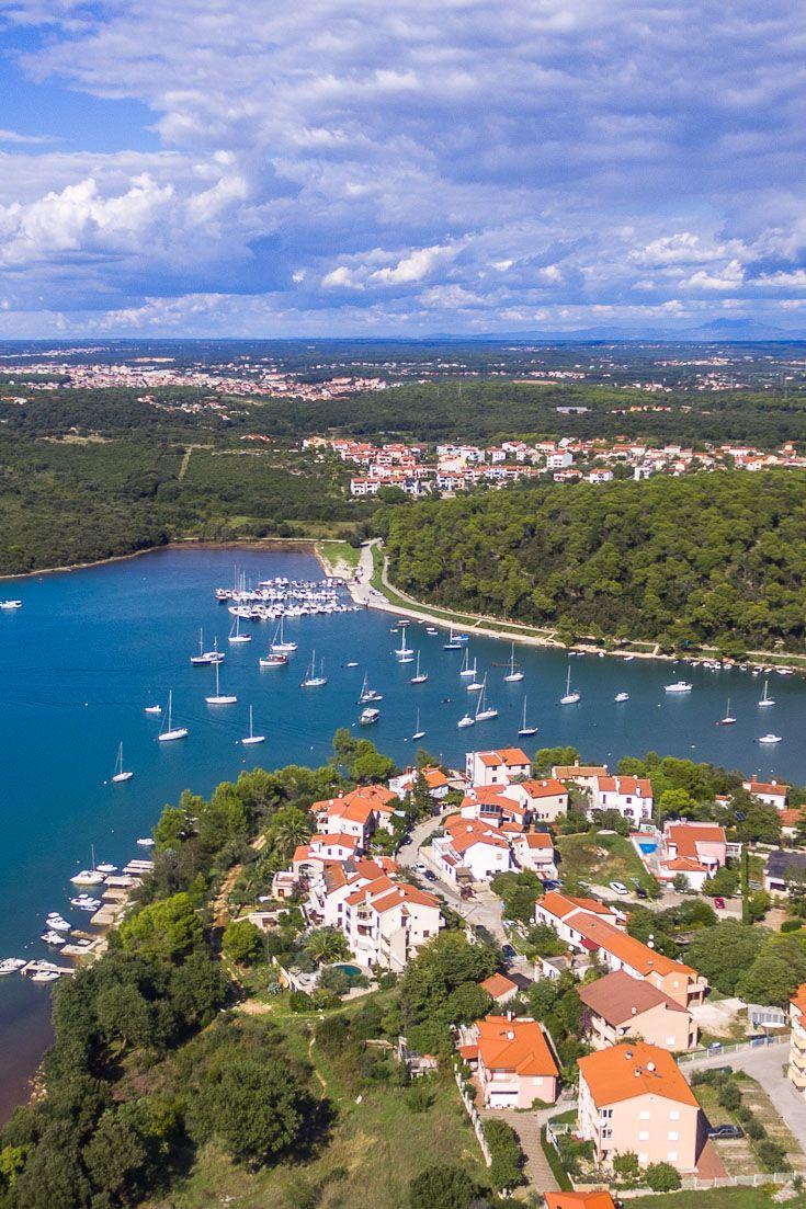 Luftaufnahme von Pula in Kroatien Pula in 2019 Pula