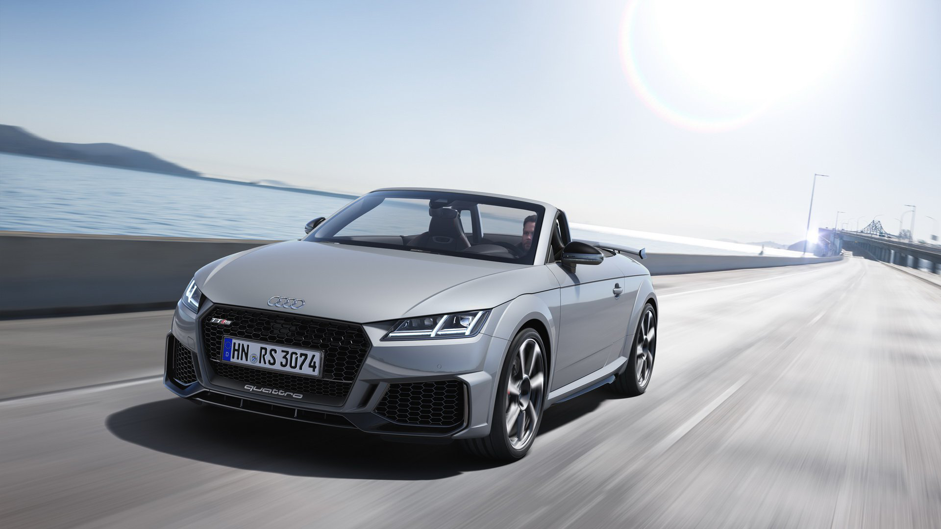 2020 Audi Tt Rs 2 5 Liter Turbo Five With 400ps Carmojo The Facelifted Tt Rs Coupe And Roadster Will Arrive At Deal Audi Tt Audi Tt Rs Audi Tt Roadster