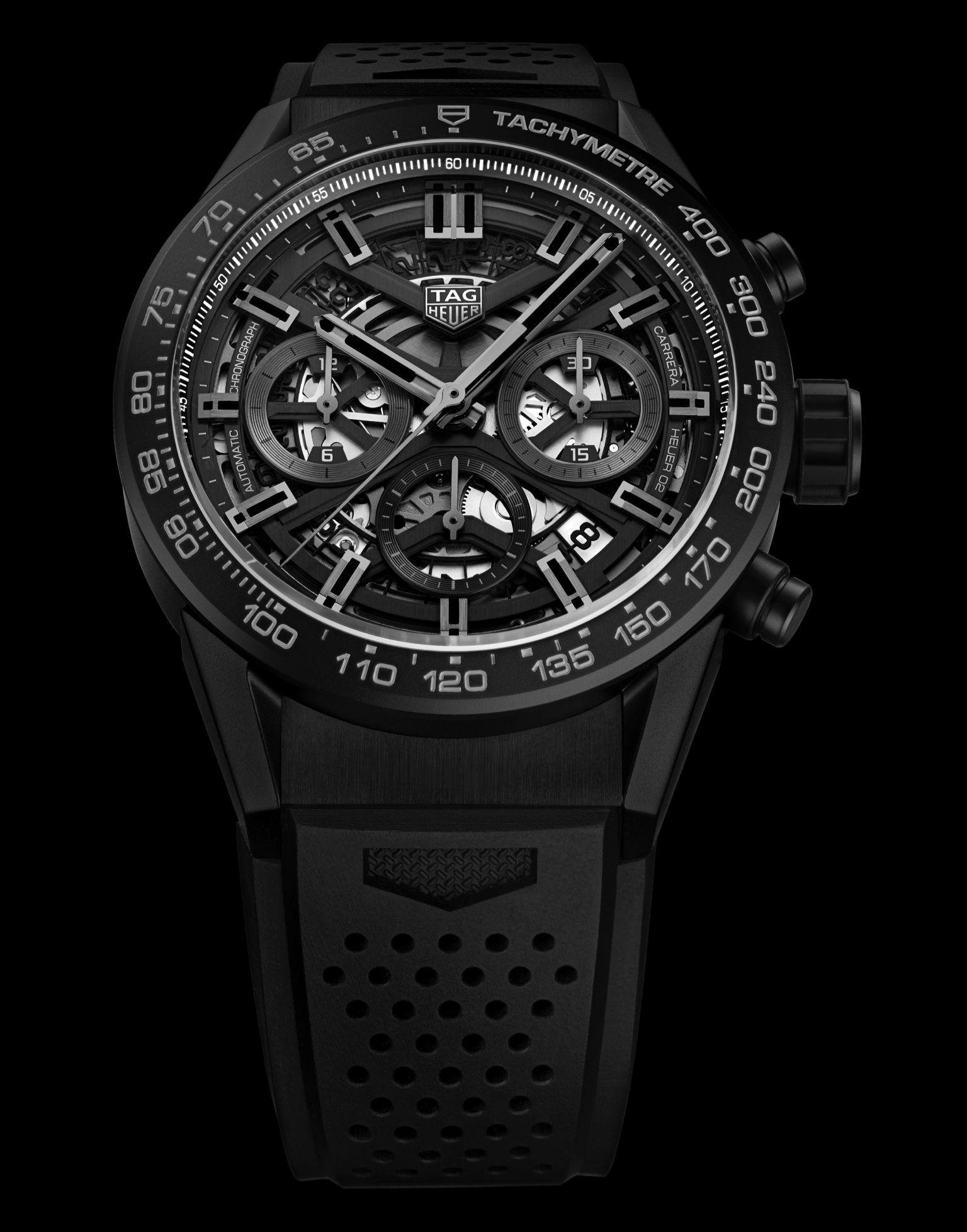 17adbe24357 2018 TAG Heuer Carrera Heuer-02 Carbon Fibre Ref. CBG2016 | Watches ...