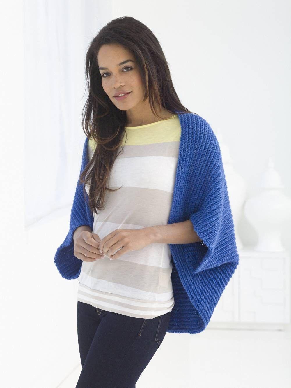 Easy Crochet Bolero Pattern