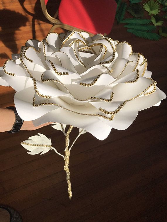 Giant paper flower bouquet, bridal bouquet, artificial bouquet ...