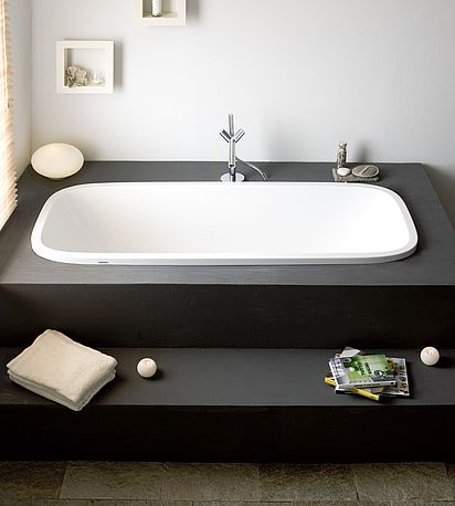 HOESCH Ovale Badewanne SingleBath Uno #cornerbathtub