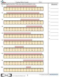 Measurement Worksheets Measurement Worksheets Math Measurement Measurement Activities