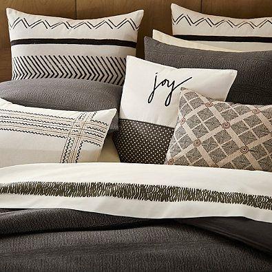 Ed Ellen Degeneres Mombasa Duvet Cover In Dark Brown Duvet Bedding Pretty Duvet Covers Pillows