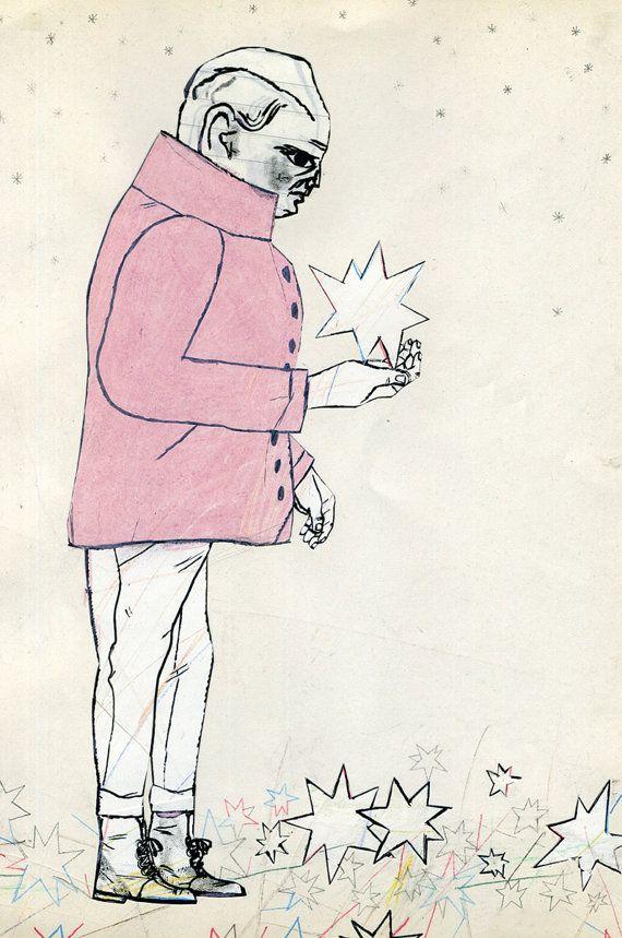 An archival, fine art reproduction of my original artwork. Paper ...