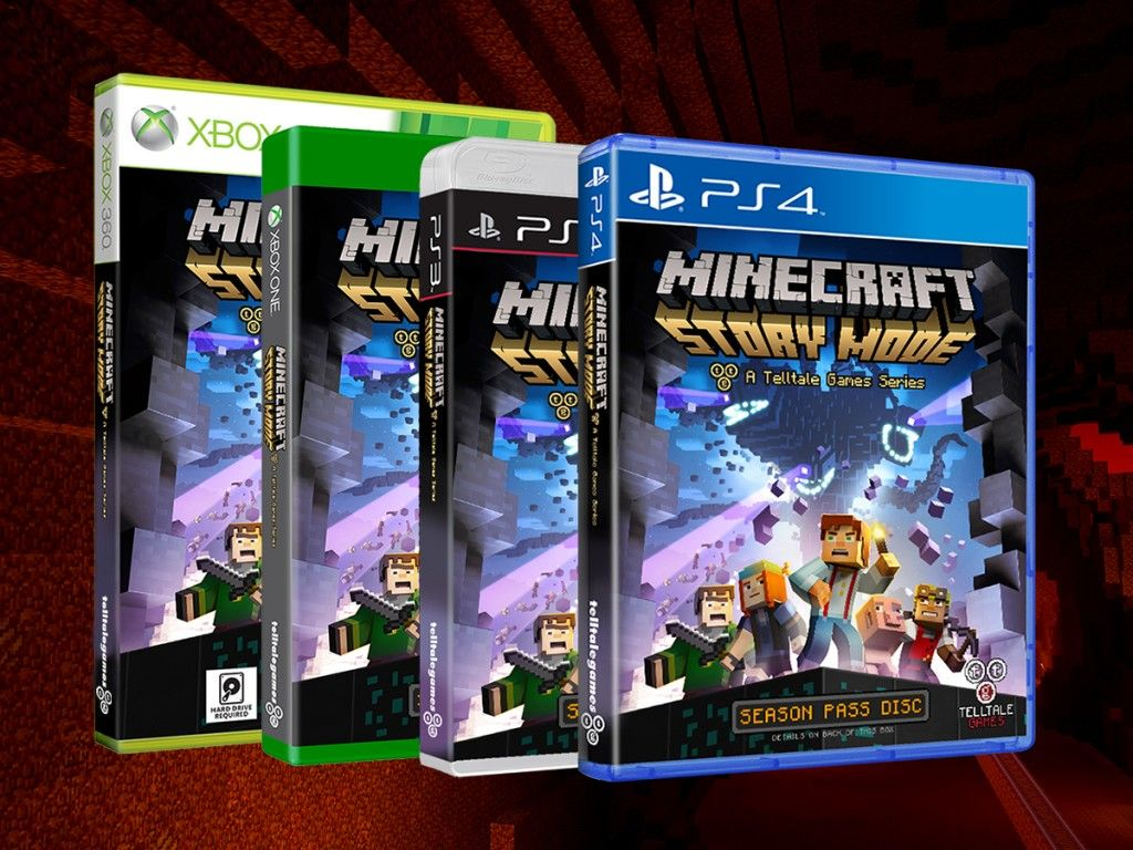 Minecraftstorymodeboxarts Minecraft Pinterest Video Games - Minecraft hauser ps4