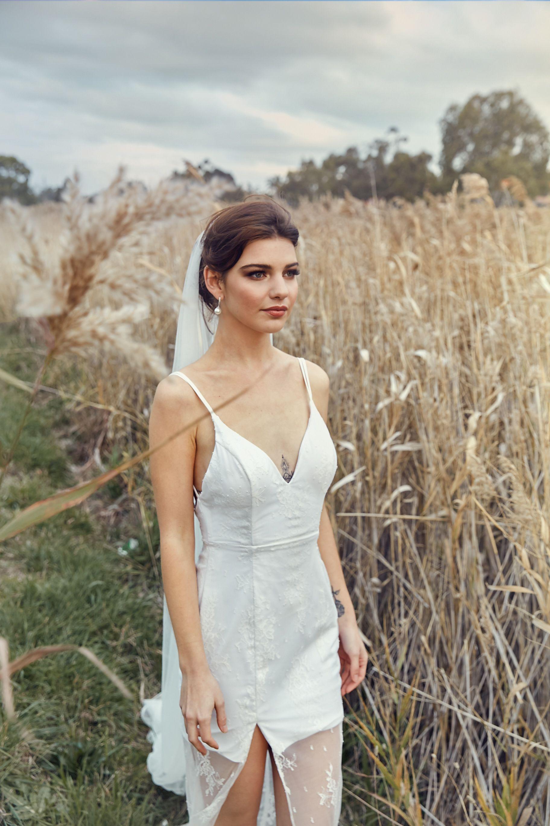 Vintage Style Wedding Dress Wedding Dresses Short Wedding Dress Wedding Dress Long Sleeve [ 3600 x 2400 Pixel ]