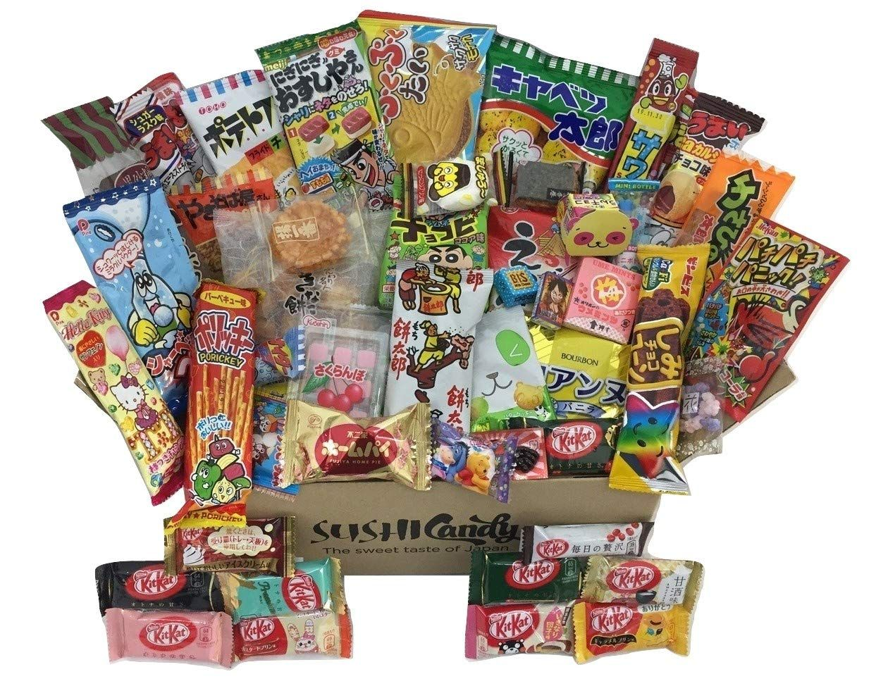 Japanese Candy And Snack Box Japanese Candy Box Japanese Candy Japanese Kit Kat Flavors