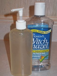 Diy Hand Sanitizer 1 4 Cup 100 Aloe Vera Gel 1 4 Cup Witch Hazel