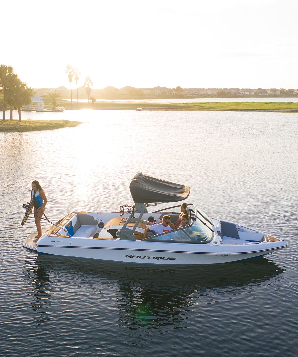 The New 2019 Nautique 200 Boat Water Skiing Ski Boats