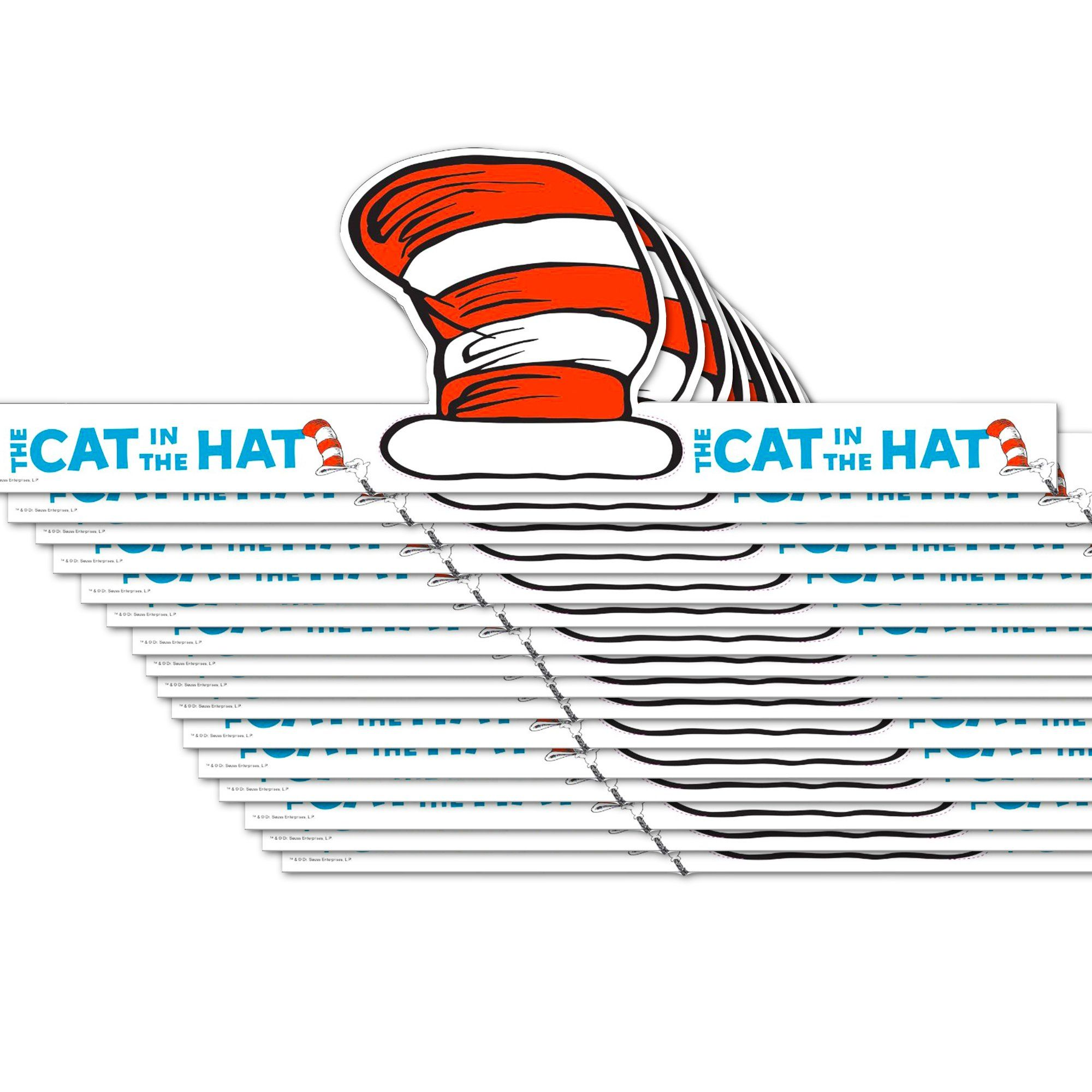 Cat In the Hat Birthday Invitations