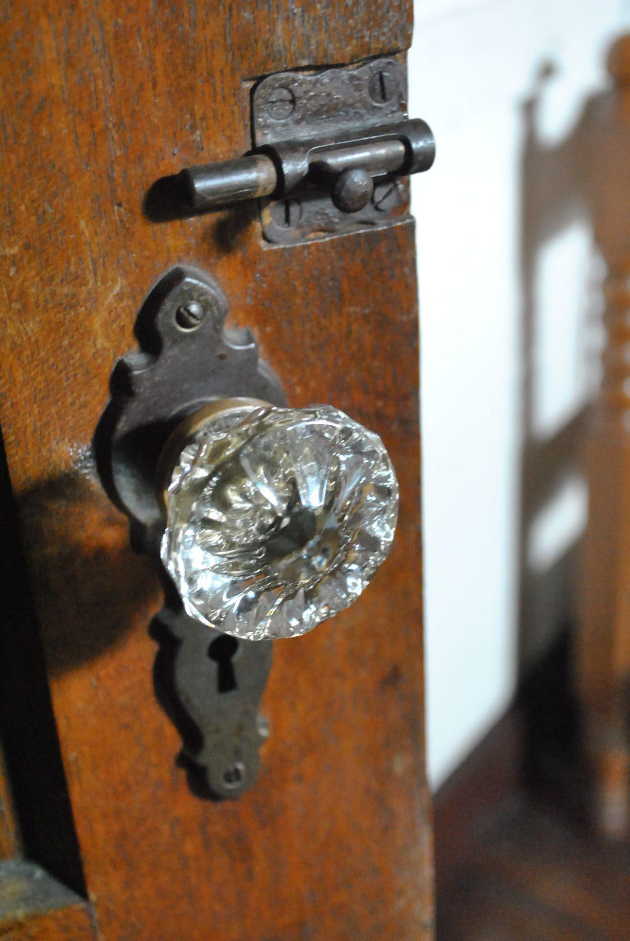 Attractive Antique Doorknob, Circa 1950s Had These In My Home As A Kid · Antique Door  KnobsGlass ...