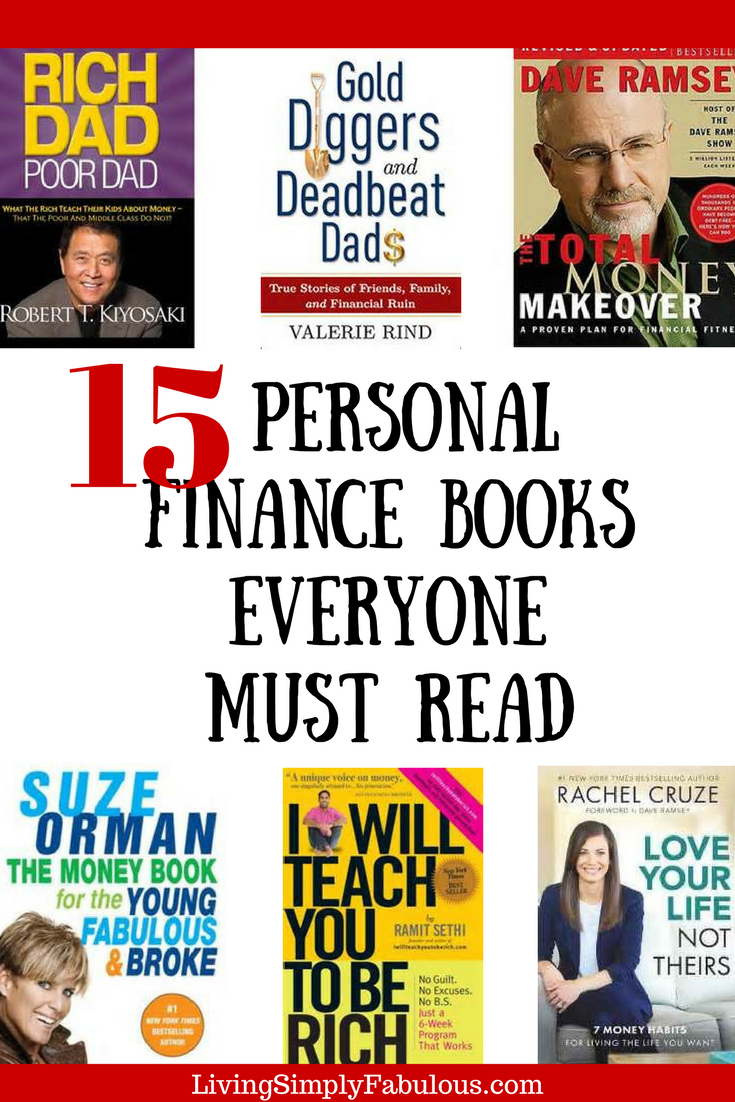 Personal Finance Books That Have Changed My Life  Personal