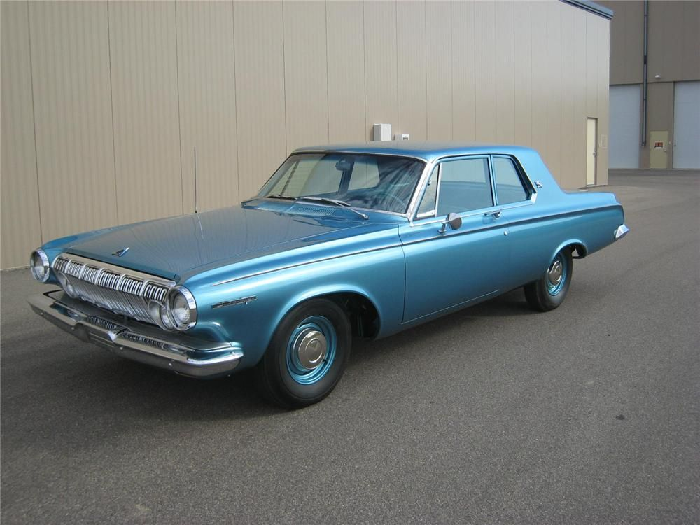 1963 Dodge 330 Max Wedge 2 Door Coupe Barrett Jackson Auction