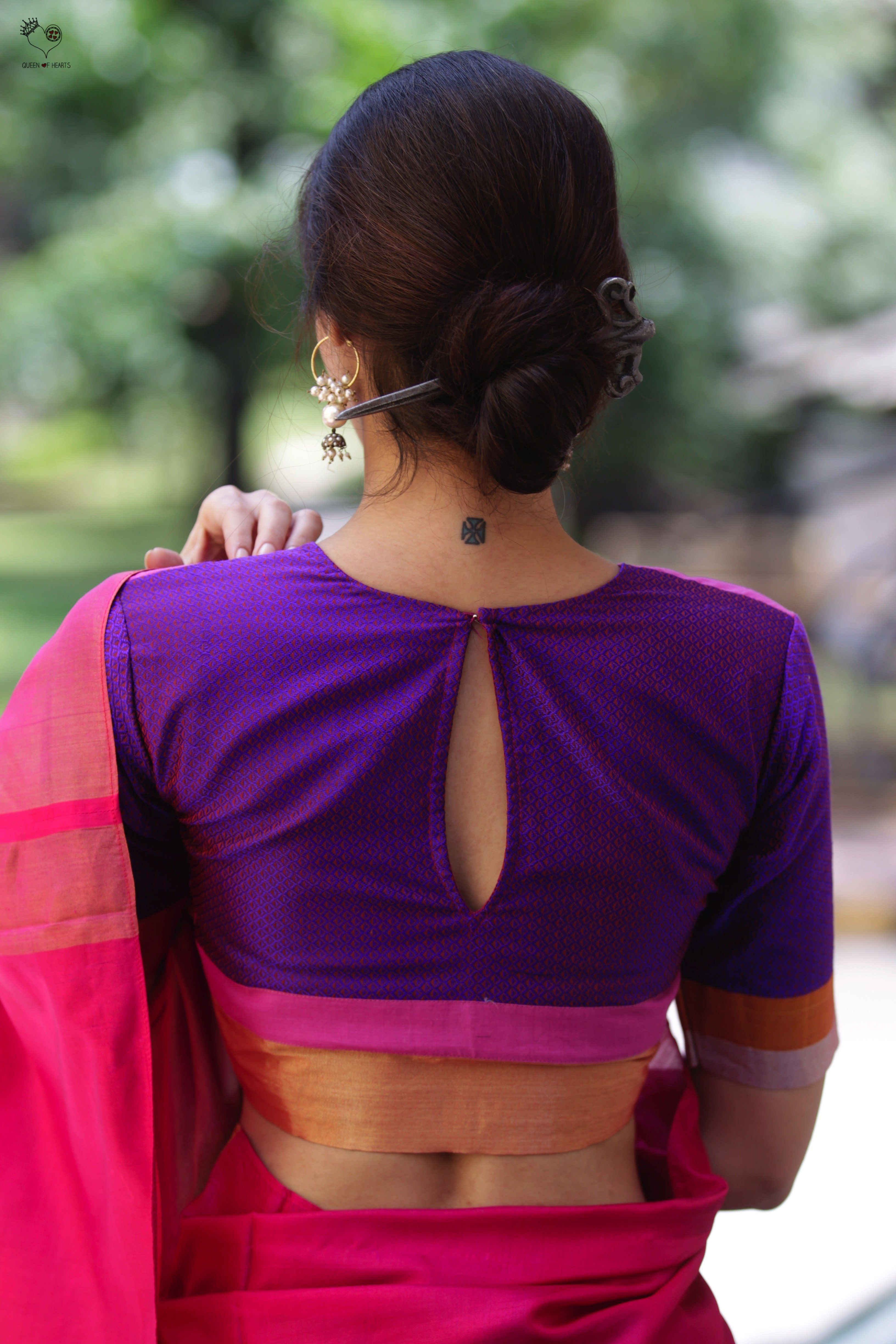 39af785325690c Shades of Purple and Pink Katori Blouse   Blouse blouses   Blouse ...
