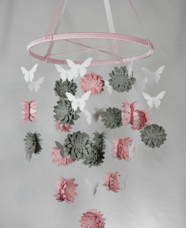 3d blumen aus mehreren unterschiedlich gro en vorlagen basteln diy pinterest basteln. Black Bedroom Furniture Sets. Home Design Ideas