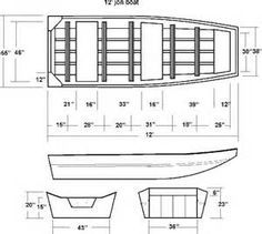 wooden jon boat design - Yahoo Image Search Results | Wood projects ...
