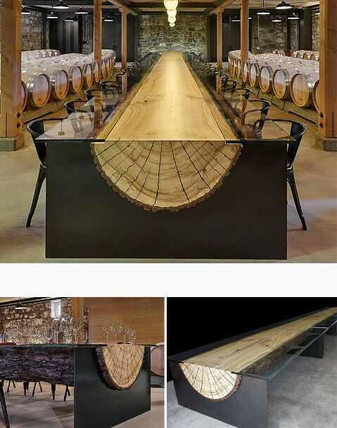 Pin by jean miller on art products misc unique desks for Mobilia kitchen table
