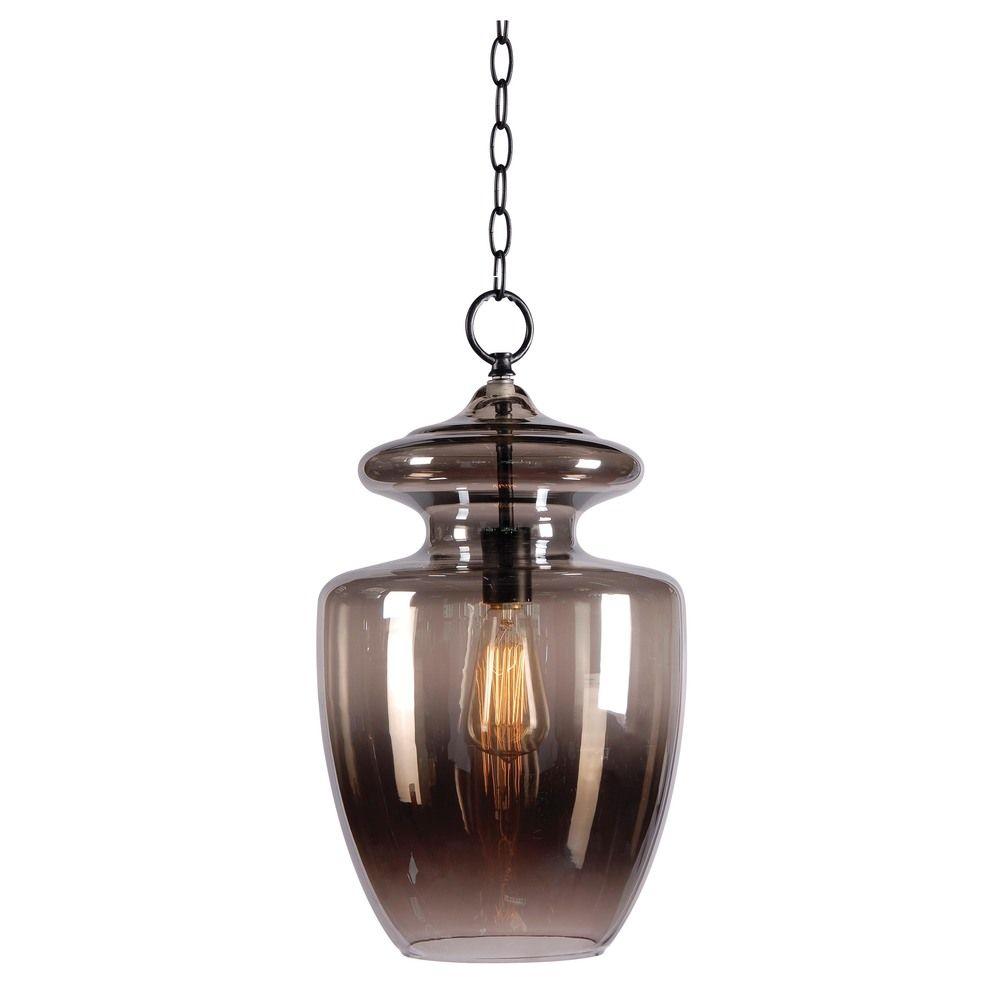 Baden 1-light Pewter Pendant   Overstock.com Shopping - The Best Deals on Chandeliers & Pendants