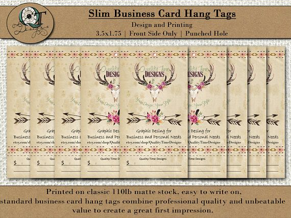Custom hang tag business cards design included 35x2 matte custom hang tag business cards design included 35x2 matte 110 lb card stock one side printing only quality thickness reheart Images